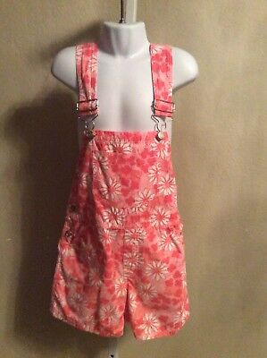 Lilly Pulitzer Short Overalls Girls Size 5