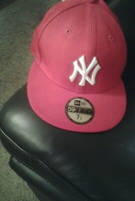 New York Yankees Red 59FIFTY [5950] MLB New Era Fitted Cap