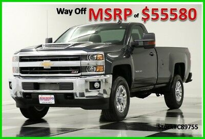 2018 Chevrolet Silverado 3500 LT Regular Cab Truck For Sale New 3500HD Duramax Single  Remote Start Bluetooth Graphite Metallic 17 2017 18