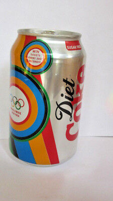 2012 England Summer Olympics Diet Coke Can