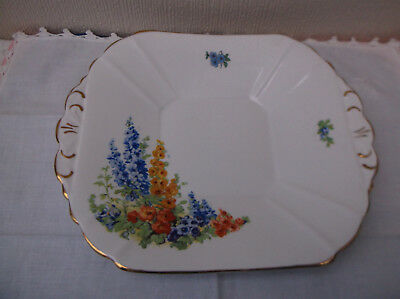 Melba Ware - Cake / Bread and Butter plate - Cottage garden style