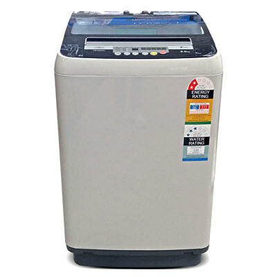 NEW FROST Washing Machine 8kg Automatic Top Load Washer Home Dry Wash