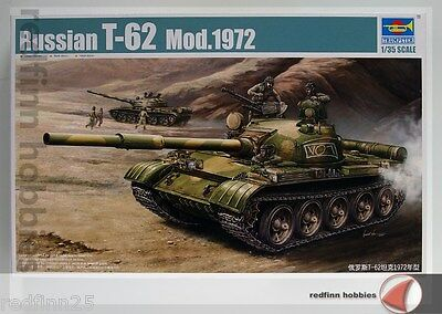 Trumpeter Russian T-62 Mod.1972 1/35