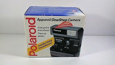 Polaroid One Step Close Up Instant Camera w/ Box Bilingual Film Tested