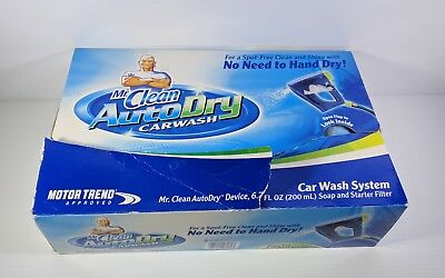 Mr. Clean AutoDry Car Wash System New Soap Filter Hose Attachment