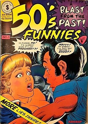 50's Funnies #1 (1980, Kitchen Sink Press) Independent Comic book