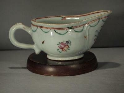 Chinese Export Persian Market 18Th Century Sauce Boat