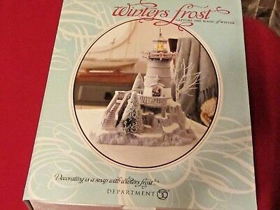 "Dept 56 Winters Frost ""Winter Light""    #809459   2011 Rare"