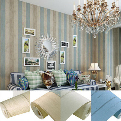 IK- 10m Vintatge Wood Panels Wall Background Roll Wall Mural Barnwood Decor Surp