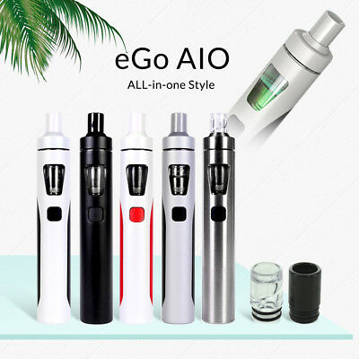 100%Authentic 1Joyetech eGo AIO Kit w/ Extra Coils Opt - Charger - US SELLER