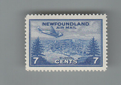 Newfoundland no. C19  MNH  '' AIR MAIL '' MOG NH...2 scans
