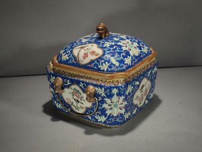 Fine Chinese Taste Marked Qing Dynasty Covered Tureen