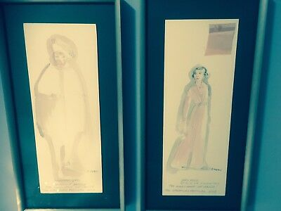 Costume Sketches THE MERCHANT OF VENICE