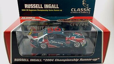 Classic Carlectable 1:43 Russell Ingall #98 2004 Championship Runner-up V8