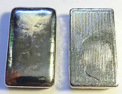 "2 OZ 999.0 Pure BISMUTH SPM Bullion ""Hand Poured"" Ingot (Great Invest) a"