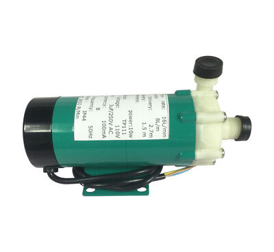 110V Corrosion-resistant Magnetic Drive Pump 15R With Plastic Head