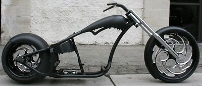 2017 Custom Built Motorcycles Chopper  MMW AMERICAN SAVAGE 300 REAR , 26 FRONT  SOFTAIL ROLLING CHASSIS