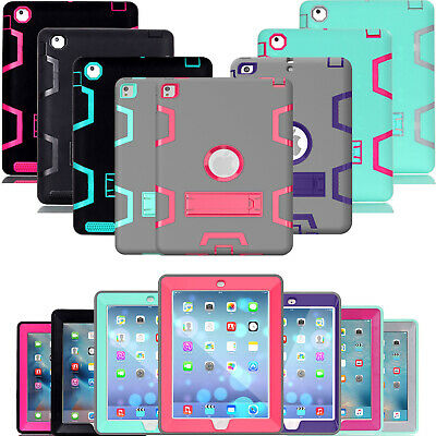 Shockproof Case Heavy Duty Tough Protective Cover For iPad mini 1 2 3 4 iPad 5