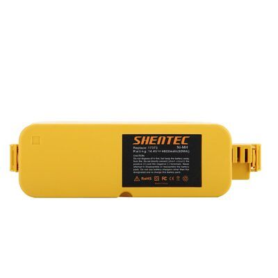 Shentec 14.4V 4800mAh Replacement Battery for iRobot Roomba 400 405 410 415 416