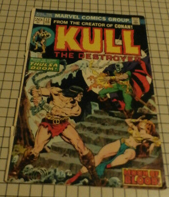MARVEL COMICS: KULL The Destroyer  Vol. 1 No. 12 Feb. 1974 uncetified 2.0 GD