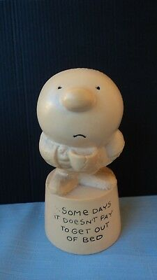 """VINTAGE...1972 ZIGGY...""""Some Days It Doesn't Pay to Get Out of Bed""""... Figurine"""