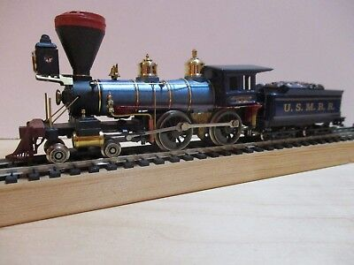 Ho Scale Pocher / Rivarossi 4-4-0 Civil War Loco In Union Blue ( Un Named )