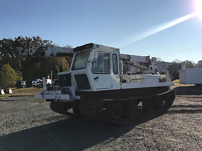 2003 Bombardier Go Tract GT3000 Track Machine Digger Bucket Boom 60' Diesel