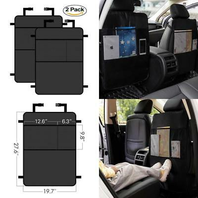 2 Pack Back Seat Protector Car Seat Kick Mat Suv Cushion Cover Set Auto Care New