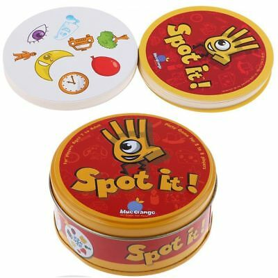 Spot It Find It Board Card Game For Children Family Gathering Party