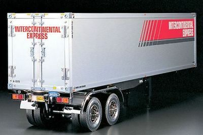 Tamiya 56302 1/14 RC Tractor Truck Semi-Trailer Container Kit