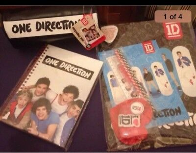 1D ONE DIRECTION Zayne Stationary Office School Teen Gift Set Pack 12 Pce  BNWT
