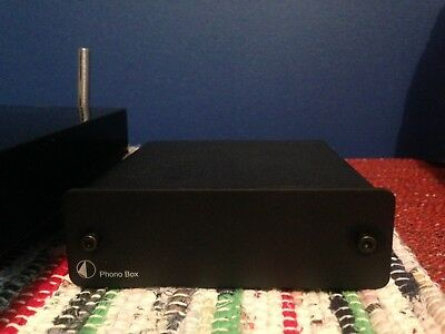 Pro-Ject Phono Preamplifier Box Black