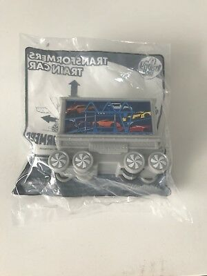 McDonalds Happy Meal Toy Transformers Train car - New
