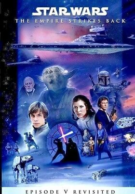 Star Wars:THE EMPIRE STRIKES BACK REVISITED [ADYWAN EDIT] DVD case and artwork