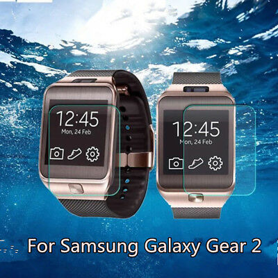 9H Clear Tempered Glass Screen Protector Film Guard For Samsung Galaxy Gear 2
