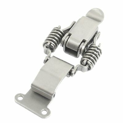 "3.3"" Compression Spring Loaded Stainless Steel Toggle Latch Catches R1B8"