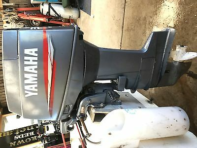 30HP Yamaha long shaft outboard motor, in fantastic condition.