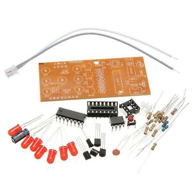LED Circuit Kits Stable 4.5-5V Red LED Lights Gadgets Electronic Dice Kits Suite
