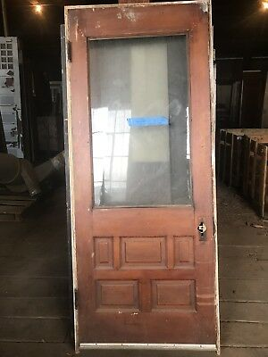 Antique Cottage Door Entry Door In Original Jamb