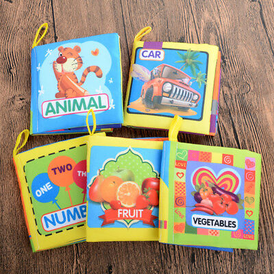 Educational Cloth Books Newest Toys Intelligence development Safe Best For Baby