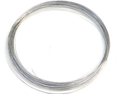 304 Stainless Steel Rope Single Bright Hard Wire 0.2mm - 3mm Various Lengths