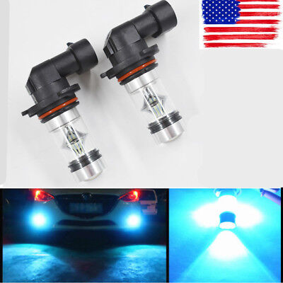 100W 9006 LED Fog Light 8000K for RAM1500 2013 2014 RAM 2500 3500 2013-2015 USA