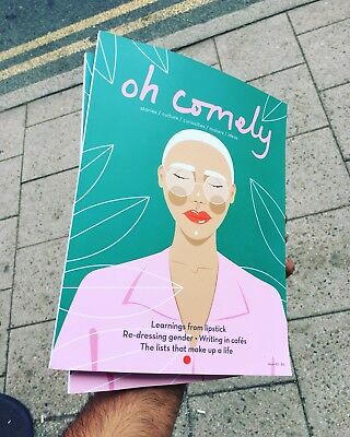Oh Comely Magzine Issue 40 December 2017 Women Who Work In Dark Book Smells