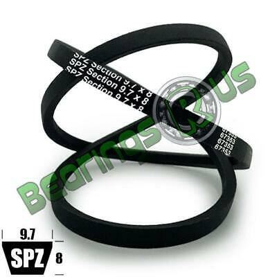 SPZ1850 (9.7x1850 Lp) Dunlop SPZ Section Wedge Belt - 1812mm Inside Length