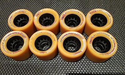 Krptonics Afterburner quad speed roller skate wheels made in u.s.a 2002