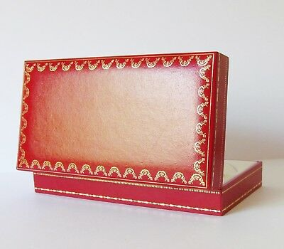 Authentic Vintage CARTIER case / box for glasses - Red Gold Rectangle
