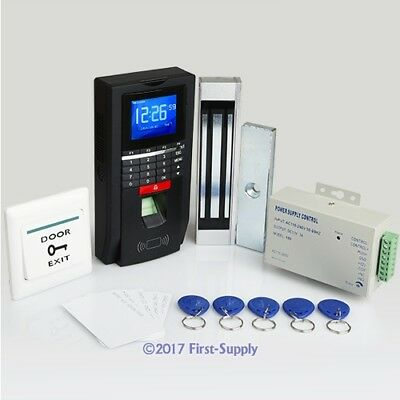 Full Fingerprint+ RFID Card Door Access Control System With 180kg Magnetic Lock