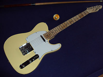 Scalloped Fire-guitars T - caster,vintagewhite,Malmsteen/Blackmore/Uli J Roth