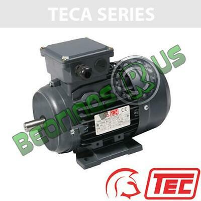TEC IE2 Rated 3 Phase 0.55kw 2760rpm (2Pole) D71 Frame B3 Foot Mounted Electric