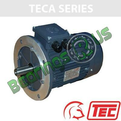 TEC IE2 Rated 3 Phase 1.5kw 1420rpm (4Pole) D90L Frame B5 Flange Mounted Electri